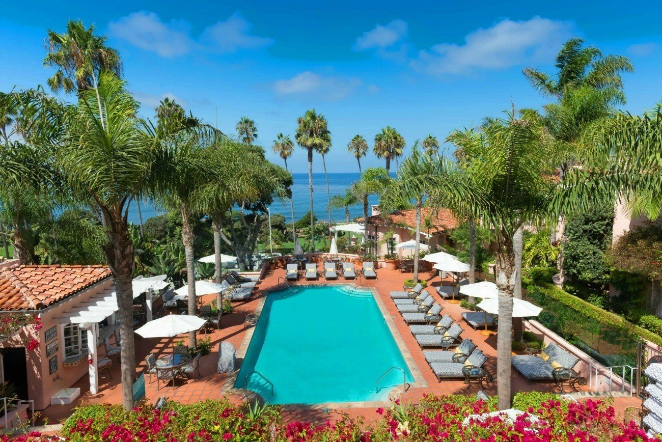 Best hotel pools in san diego