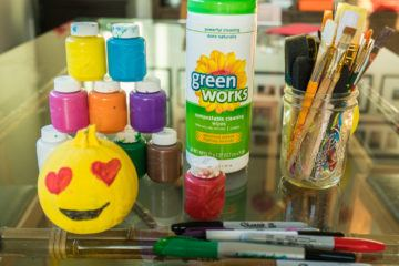 Clean up kids' crafts with Green Works
