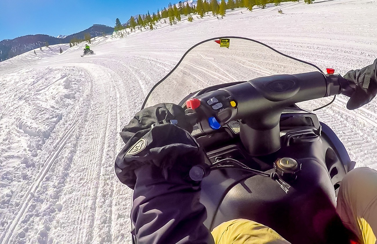 Take a snowmobiling tour on your next trip to Mammoth. It's awesome!