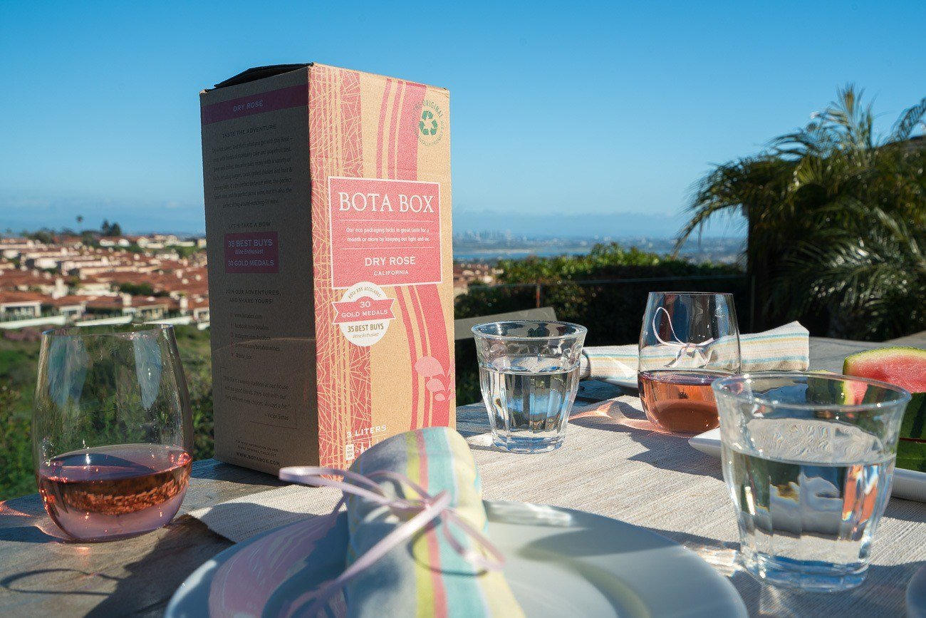 Bota Box is an very good wine in eco-friendly packaging that you can easily take on the go!
