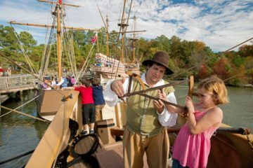 Learn more about the Jamestown Settlement and the American Revolution Museum at Yorktown.