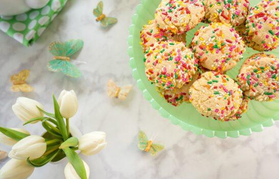 Spring Recipe: Soft Sugar Cookies with Less Sugar