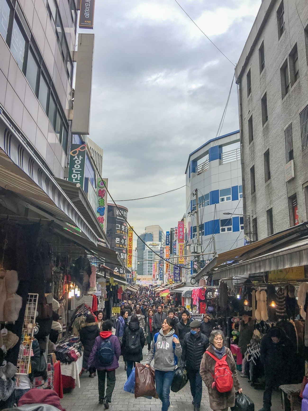 Seoul In Black And White: Photo Tour: Namdaemun Market In Seoul's Myeongdong