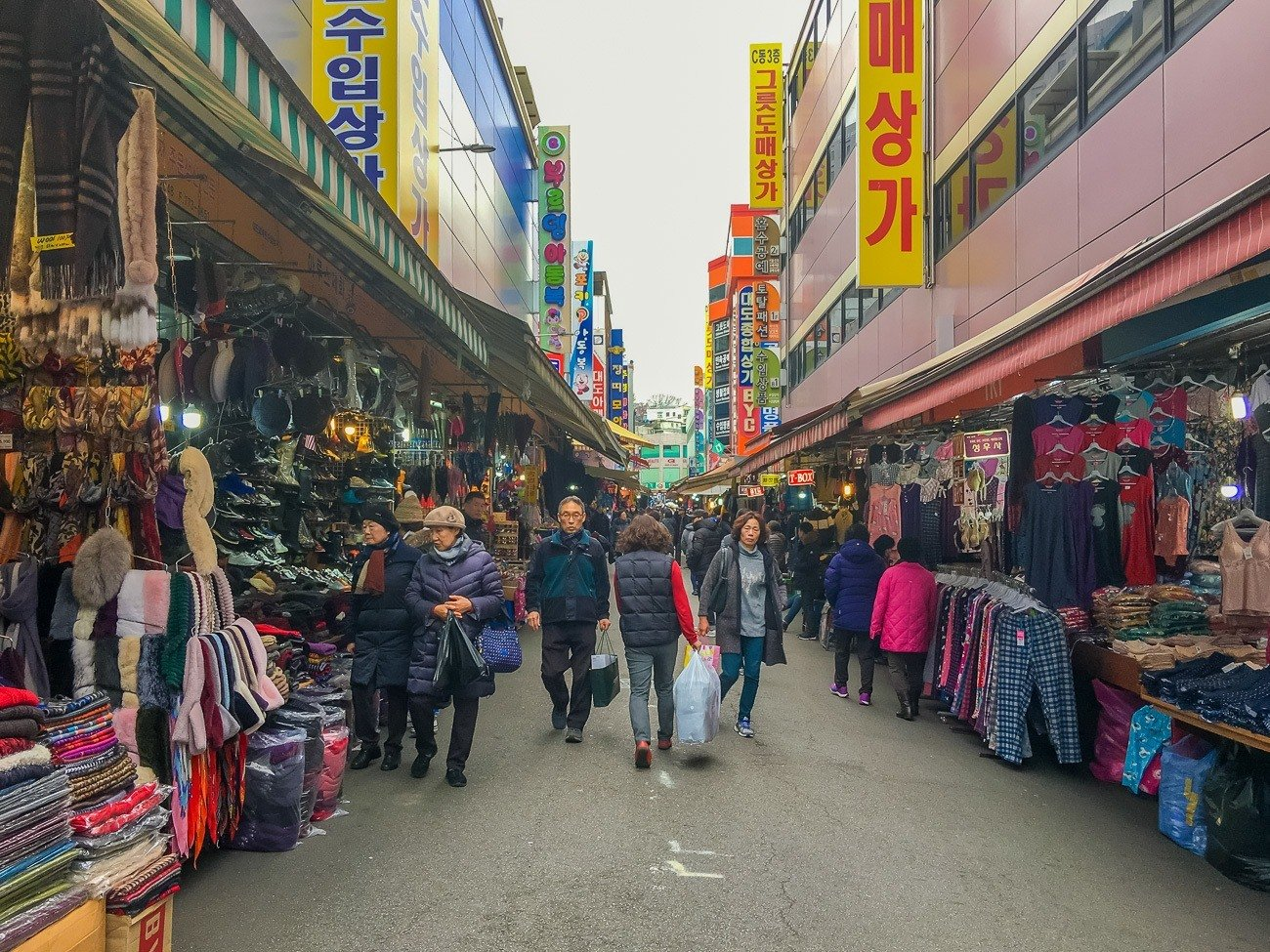 Photo Tour Namdaemun Market In Seoul S Myeongdong