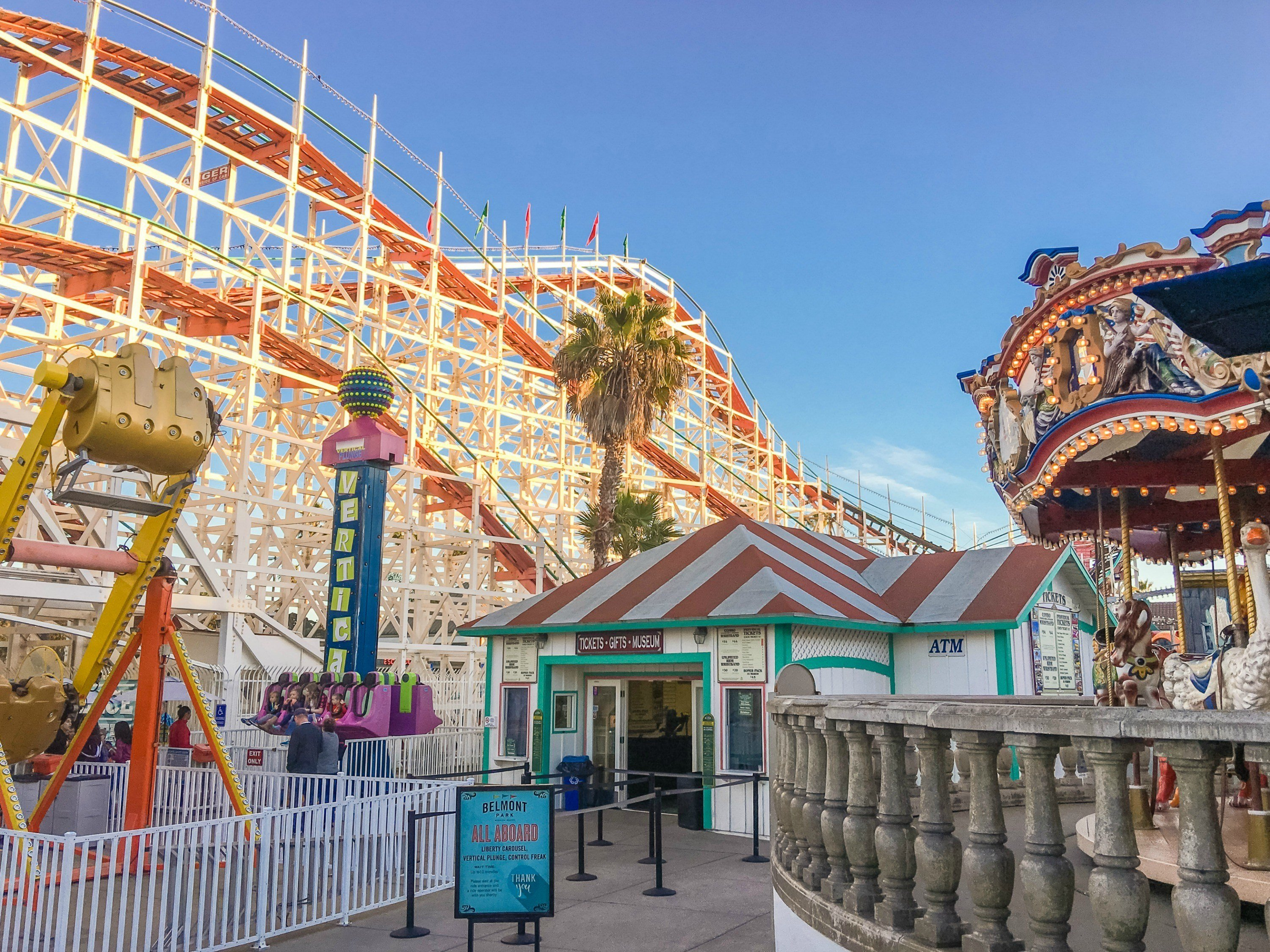 Belmont Park is one of the best things to do in San Diego with kids.