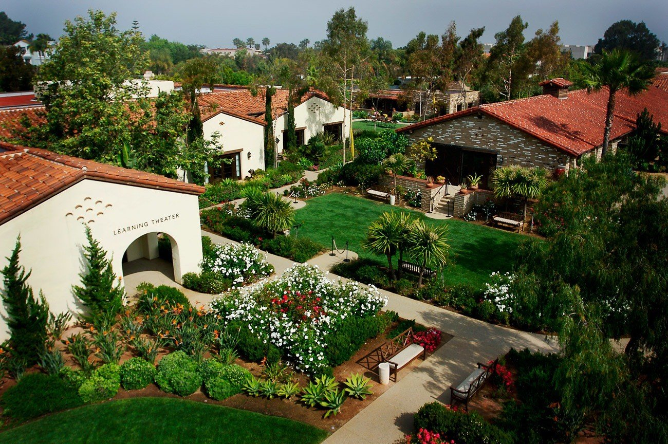 Estancia La Jolla hotel has probably the most impressive landscaping of any San Diego hotel.