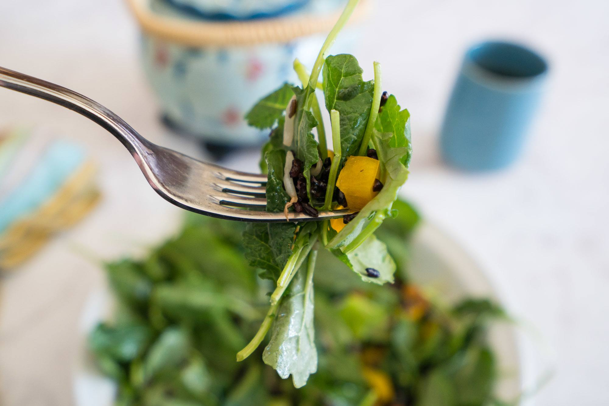 Eat a healthy lunch by having Farmer's Fix salads delivered once a week.