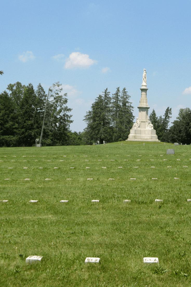 The Gettysburg National Cemetery