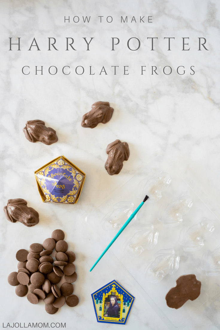 How to Make Easy Harry Potter Chocolate Frogs - La Jolla Mom