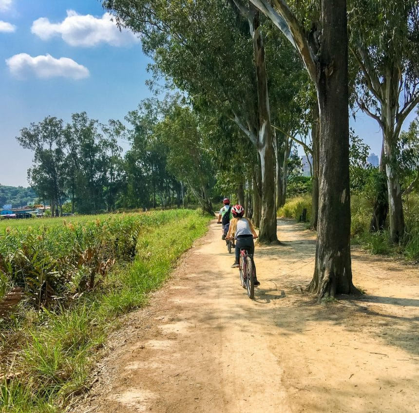 What It's Like to Bike Through Hong Kong's New Territories