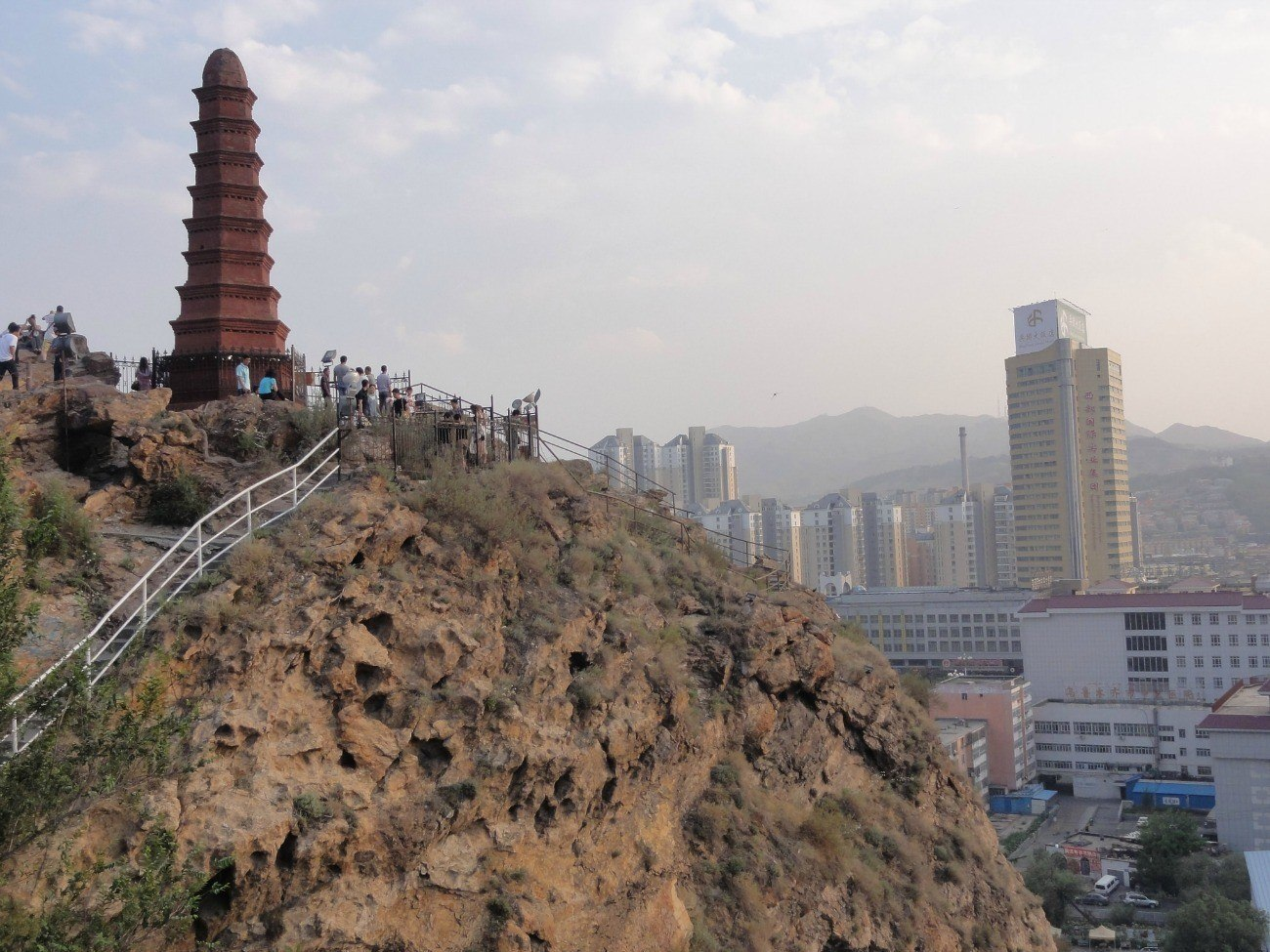 Red Hill is one of the best things to do in Urumqi, China.