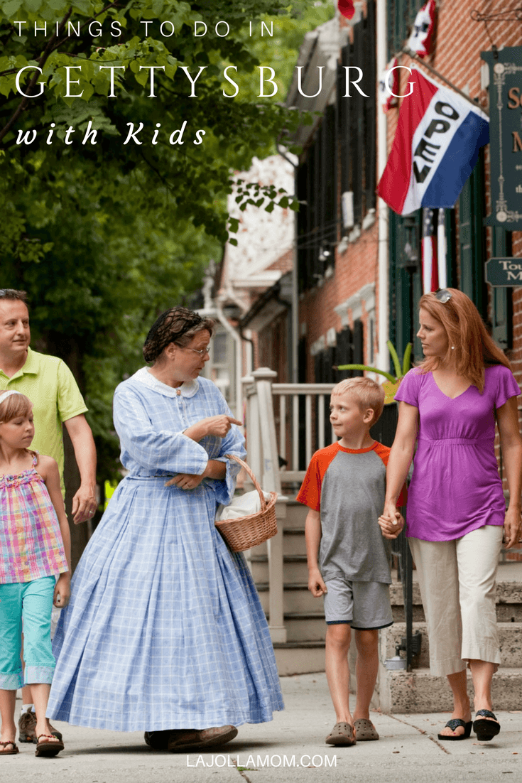 Find the best things to do in Gettysburg with kids