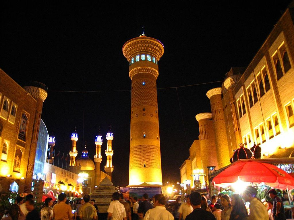 The Grand Bazaar is one of the best things to do in Urumqi, China.