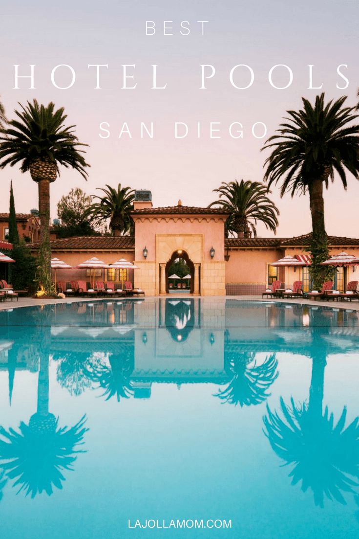 Break from the beach at these best hotel pools in San Diego.