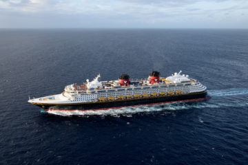 The Disney Wonder sails from San Diego - Disney Cruise