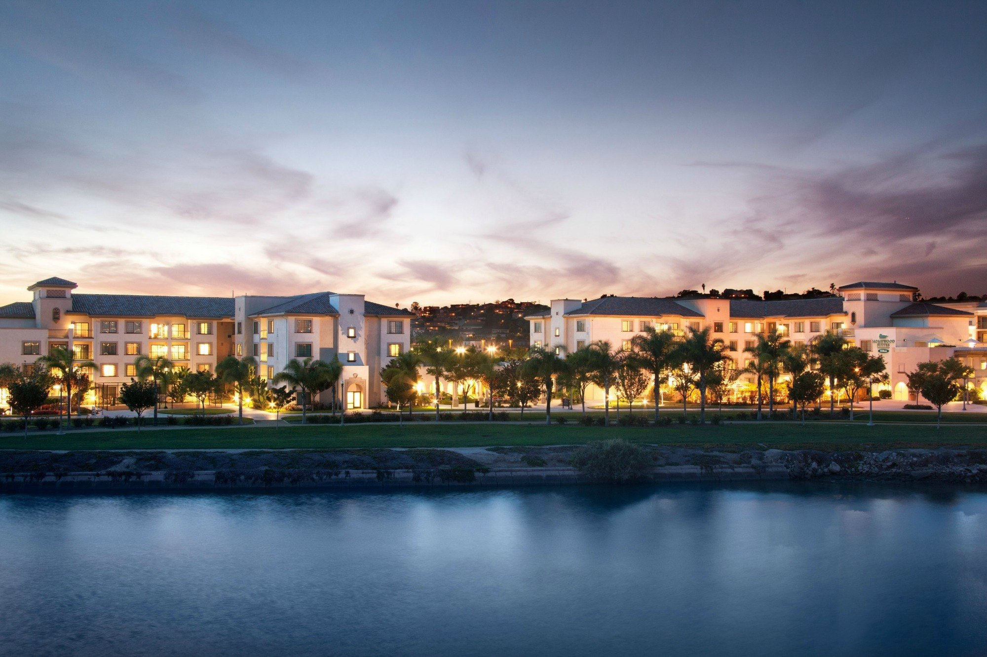 The Homewood Suites by Hilton San Diego Airport Hotel.