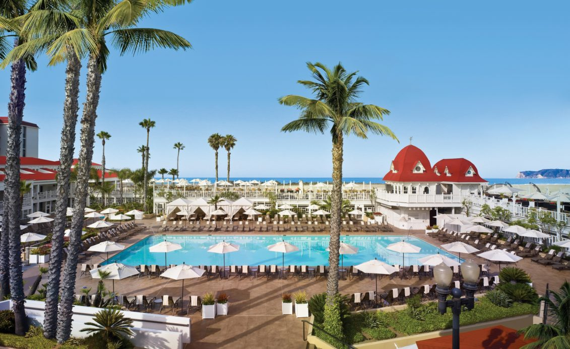 Built in , the Hotel del Coronado is a leading resort in San Diego, with enough for all of the family to enjoy. As well as a wealth of luxury accommodation to ensure you're pampered throughout your stay, there are also a number of dining options, a spa and salon, and plenty of .