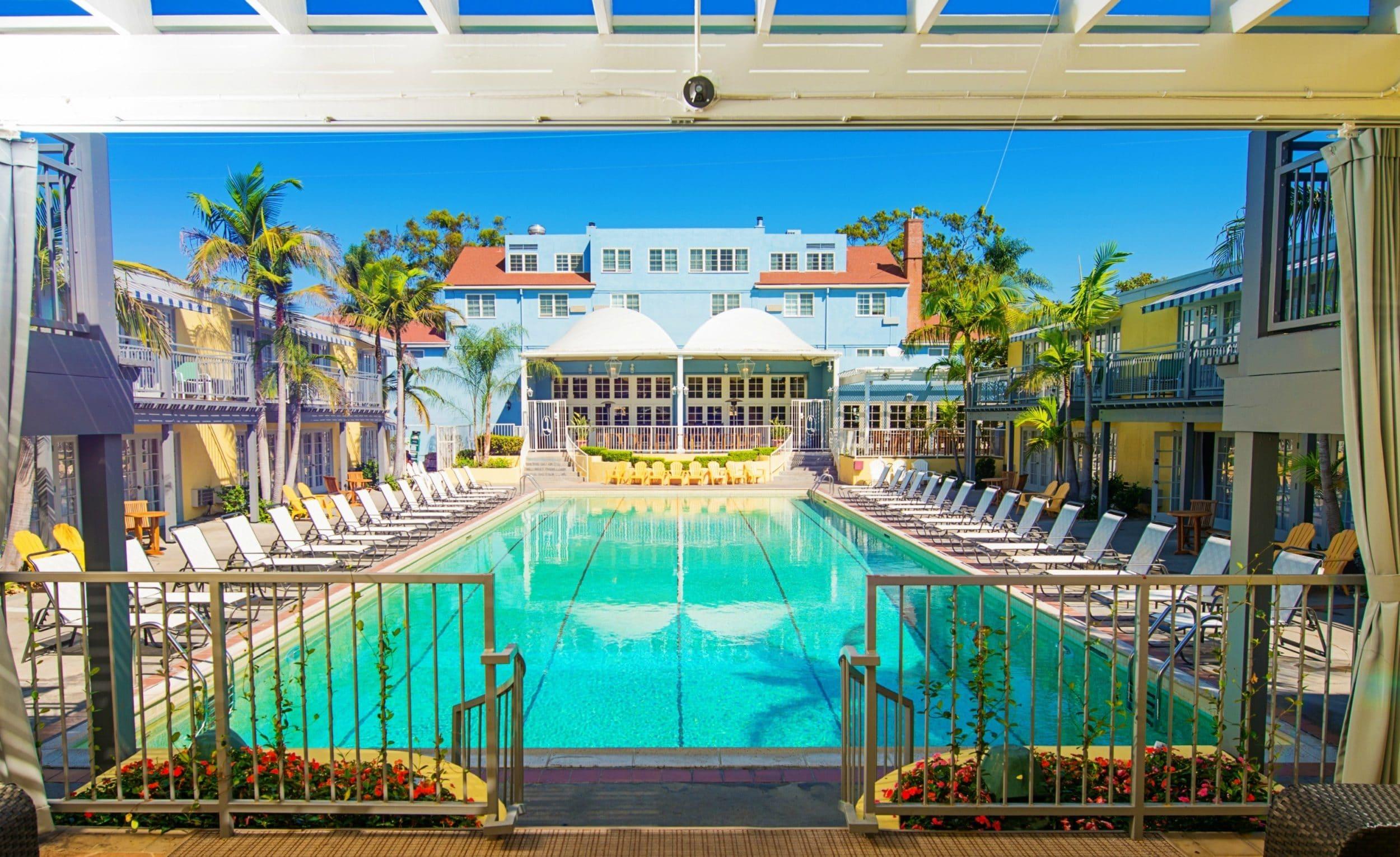 san diego hotel pools