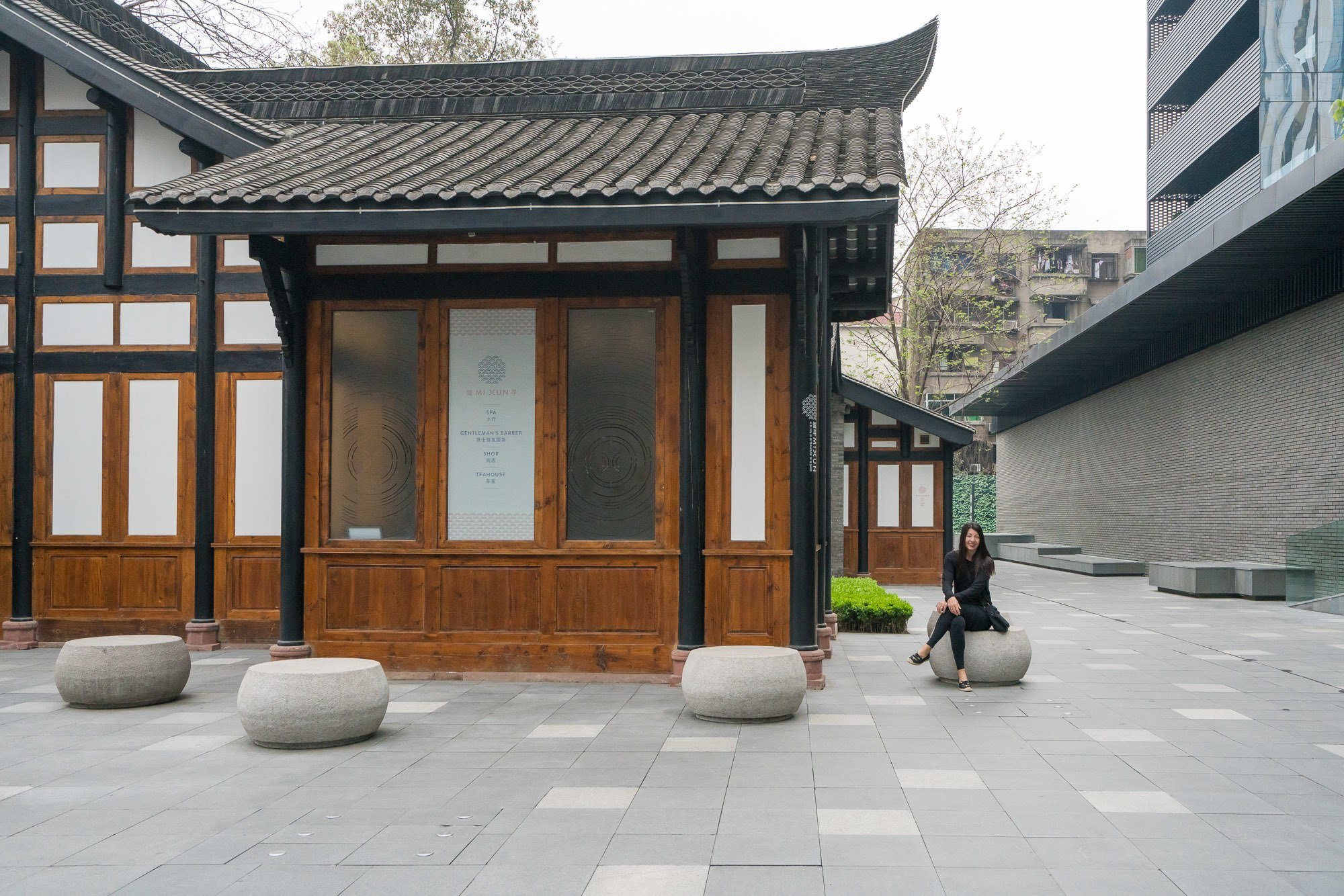 The Mi Xun spa at The Temple House in Chengdu.