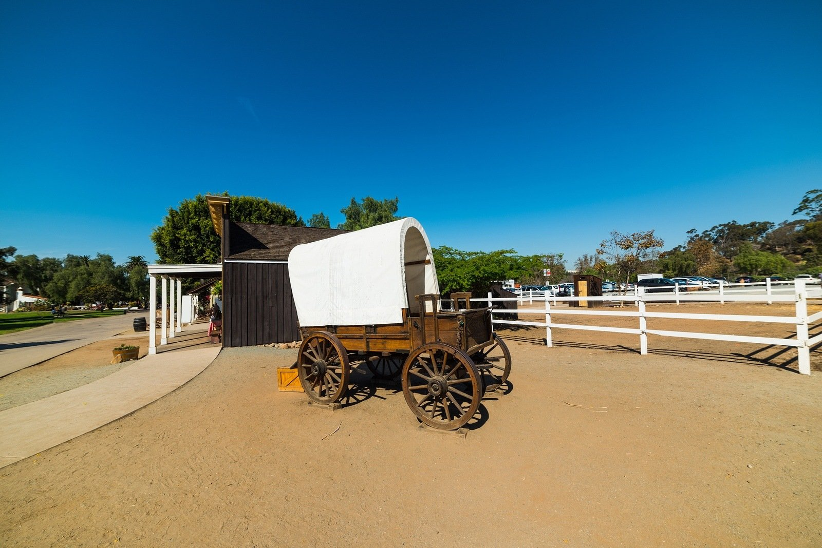 A carriage in Old Town San Diego,