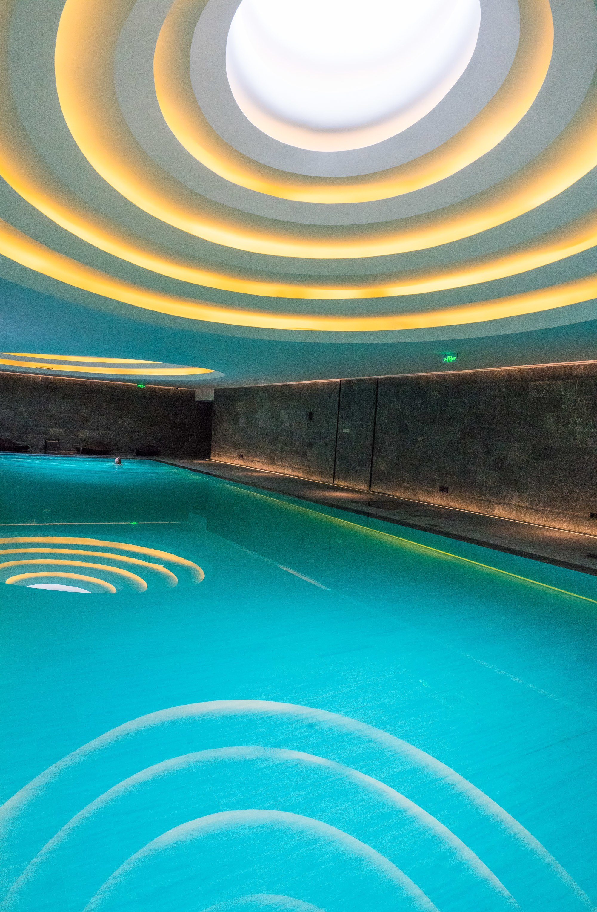 The Temple House has one of the best indoor pools in China.