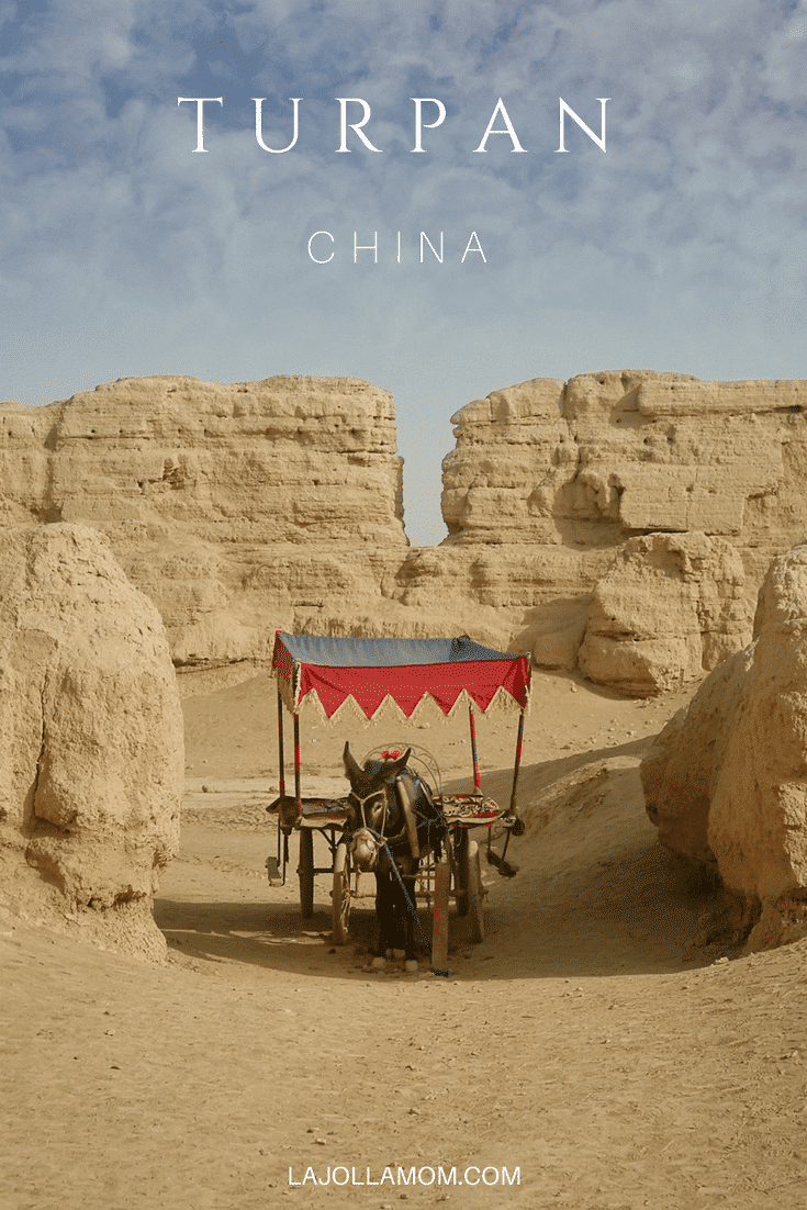 Turpan, the hottest city in China, is literally an oasis in the desert which is why it was an important stop on the ancient Silk Road.