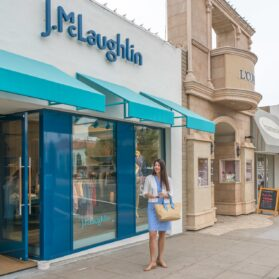 Now in La Jolla: J.McLaughlin's Stylish Prints and Wrinkle-Free Fabric