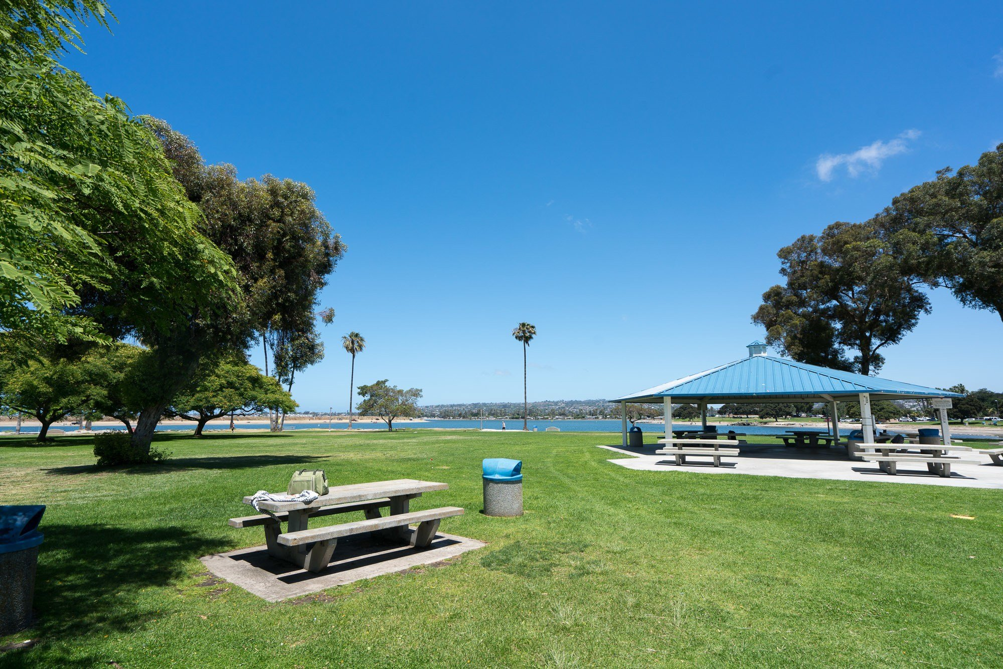 Mission Beach is an excellent place for a picnic in San Diego.