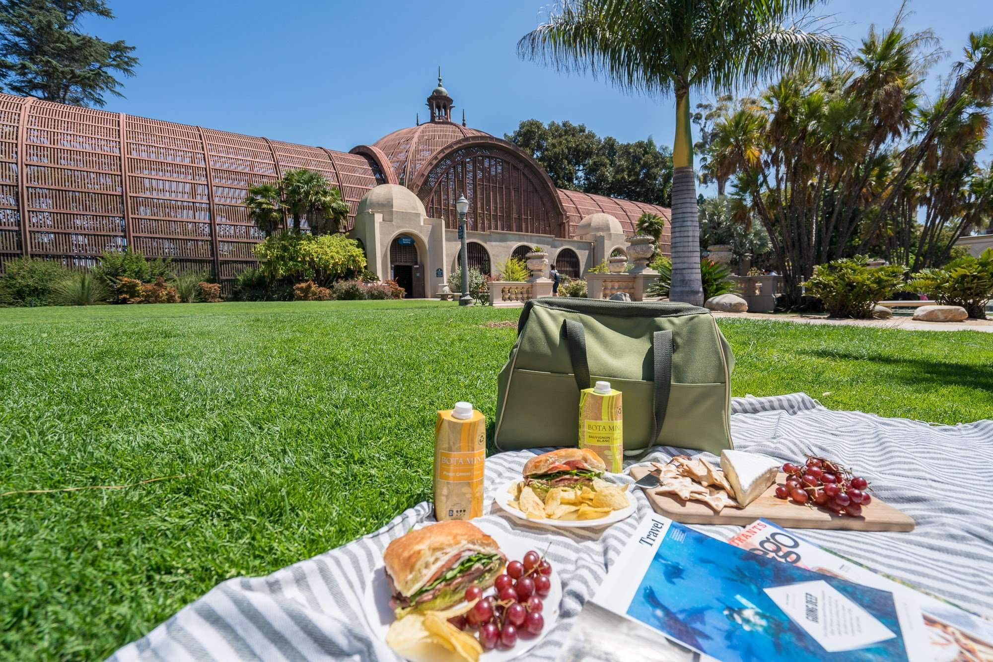 The best places for a picnic in San Diego.