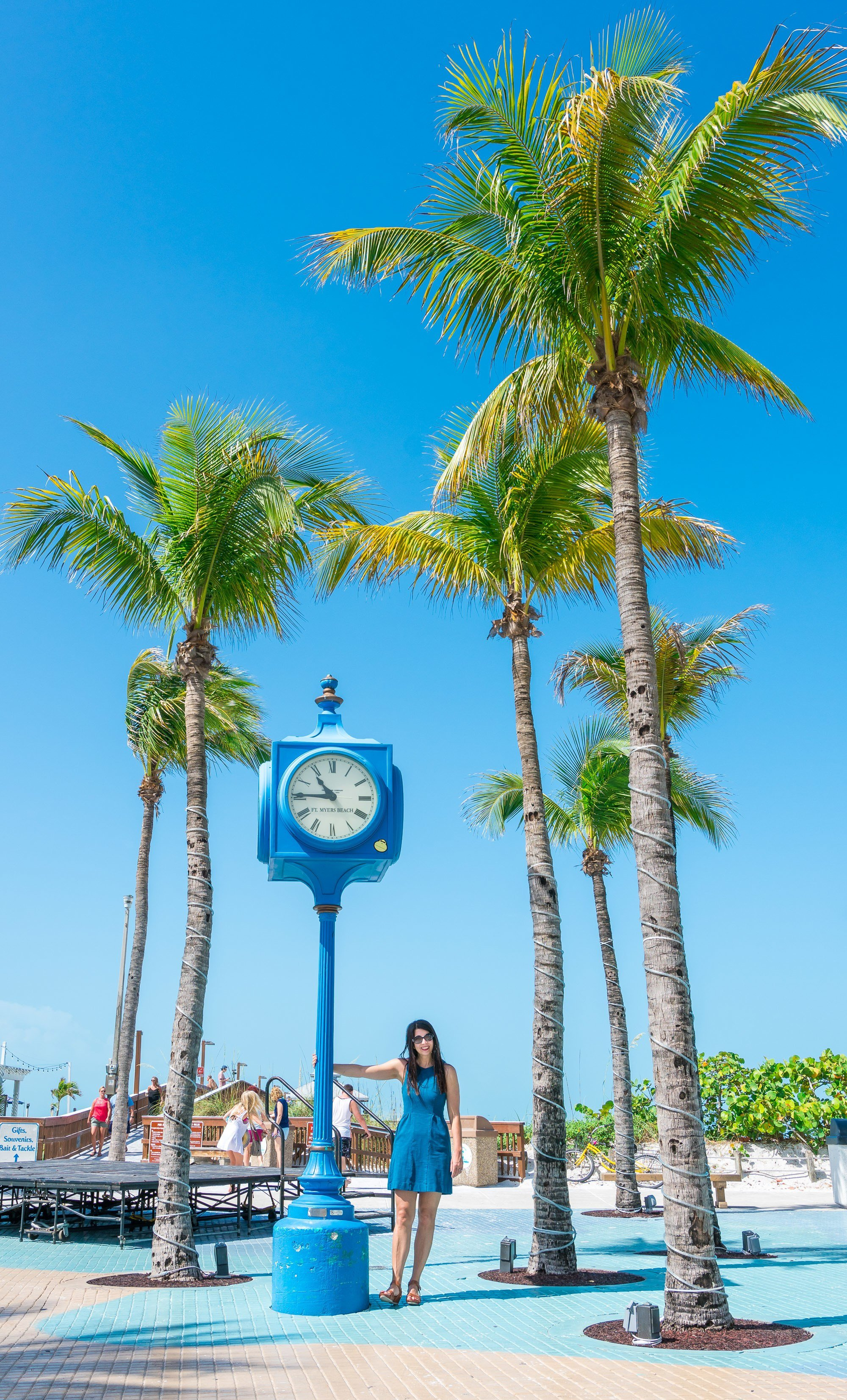 A visit to Times Square is a fun thing to do in Fort Myers Beach.