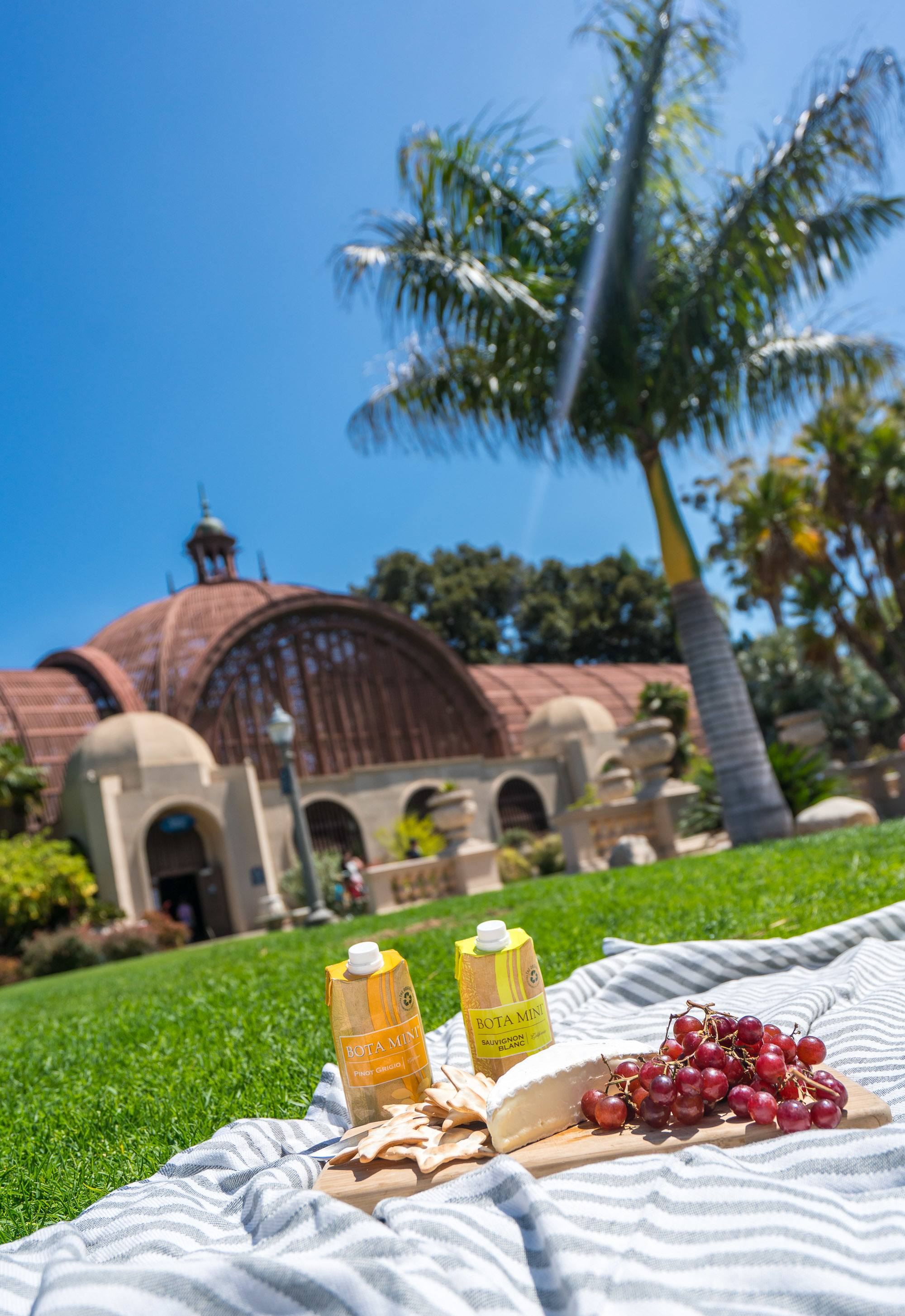 Find out where to picnic in San Diego (and some places allow wine).