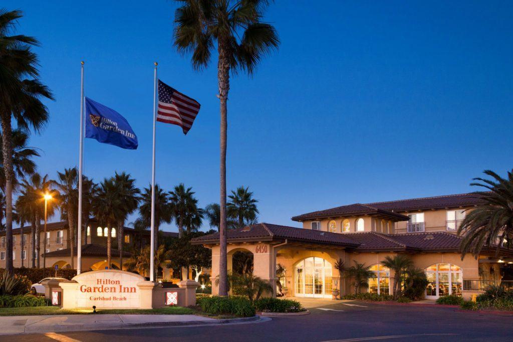 The Hilton Garden Inn Carlsbad Beach is an excellent hotel near LEGOLAND California.