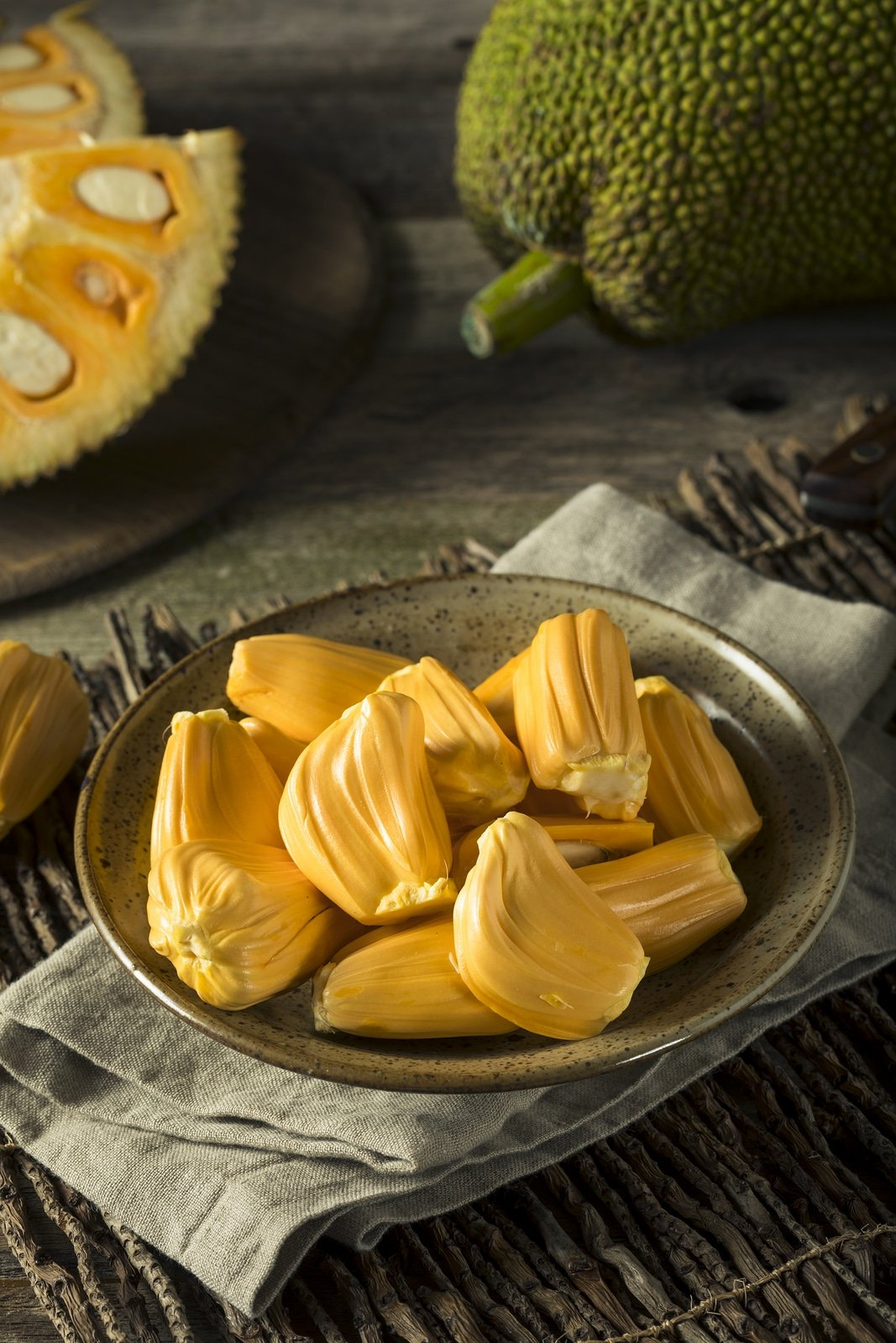 Jackfruit exotic Asian fruit