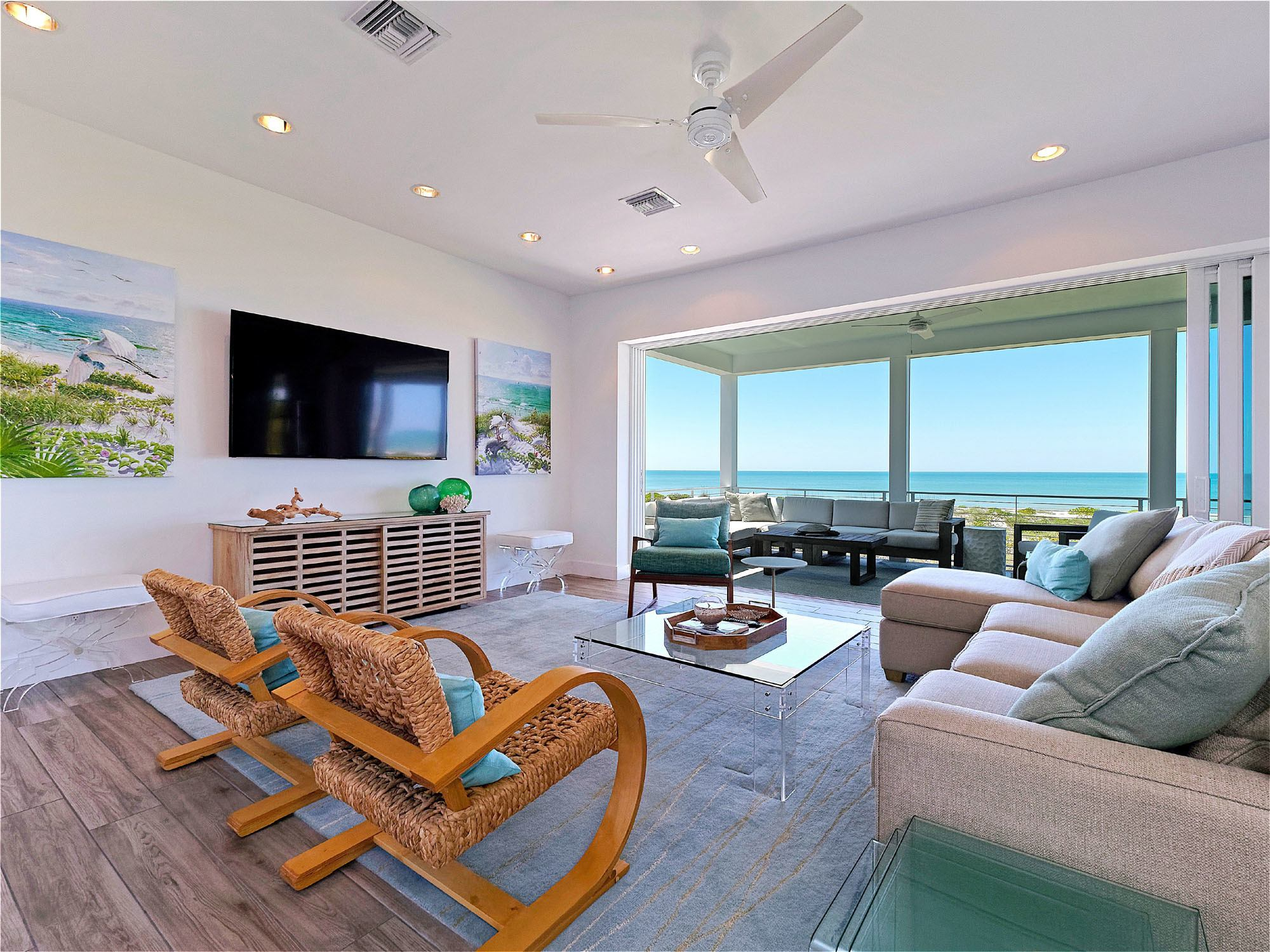 New Latitude is a gorgeous vacation rental on Captiva Island near Sanibel.