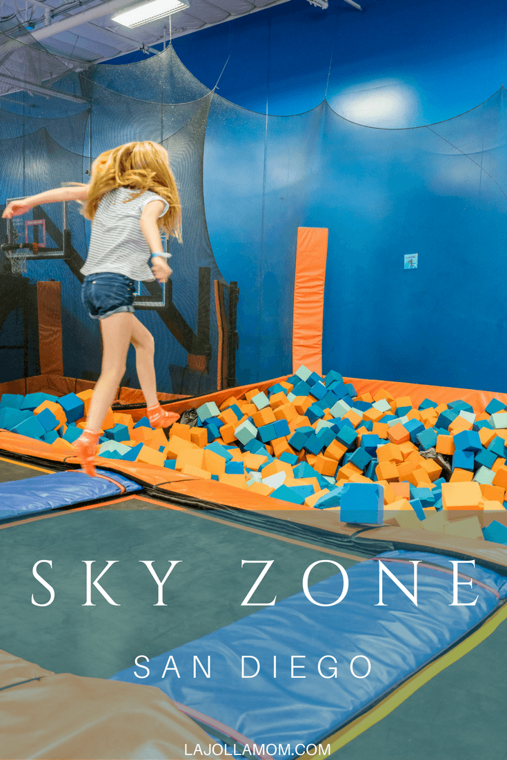 Let the kids bounce off energy at a Sky Zone trampoline park. There are two in San Diego.