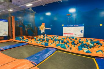 Sky Zone is a trampoline park in San Diego your kids will love.