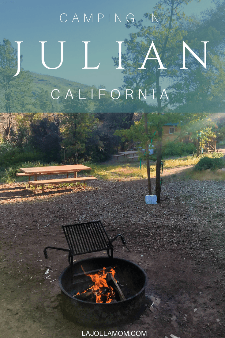 Go camping in Julian at William Heise County Park, just a few minutes from the historic downtown area.