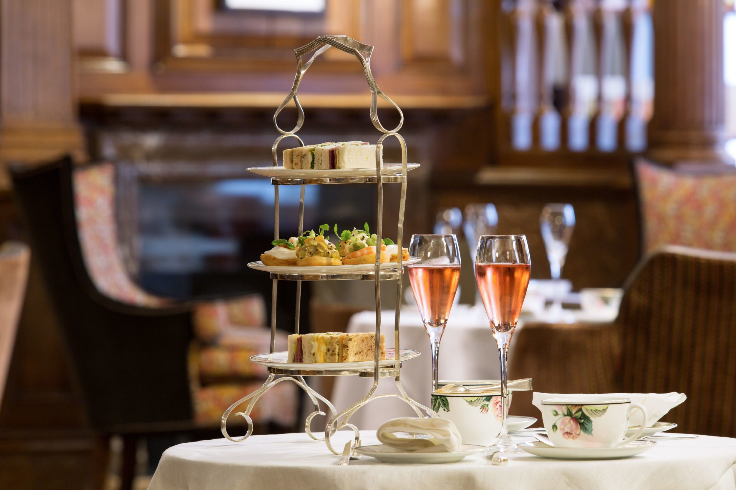 Brown's Hotel has one of the best afternoon teas in London.