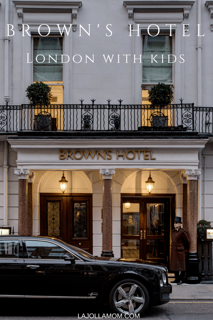 Brown's Hotel was London's first hotel and remains one of the city's most family-friendly.