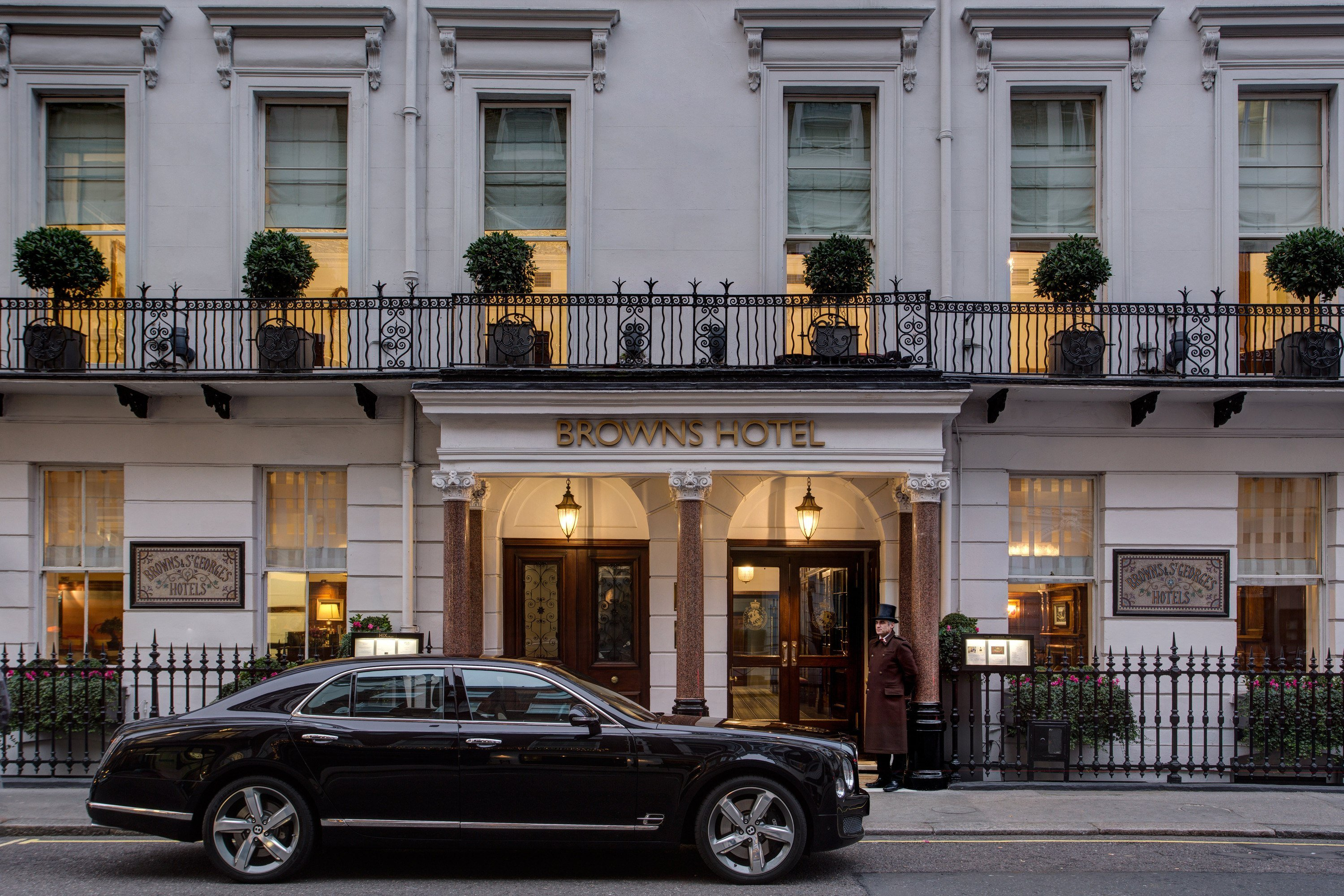 Brown's Hotel is one of the best luxury hotels in London.