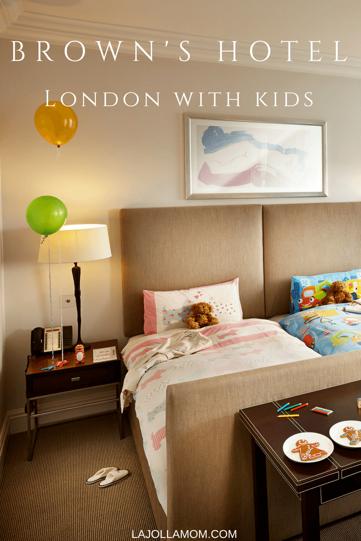 See why Brown's Hotel is one of London's most kid-friendly.