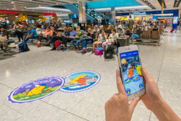 Things to do at Heathrow Airport in London with kids.