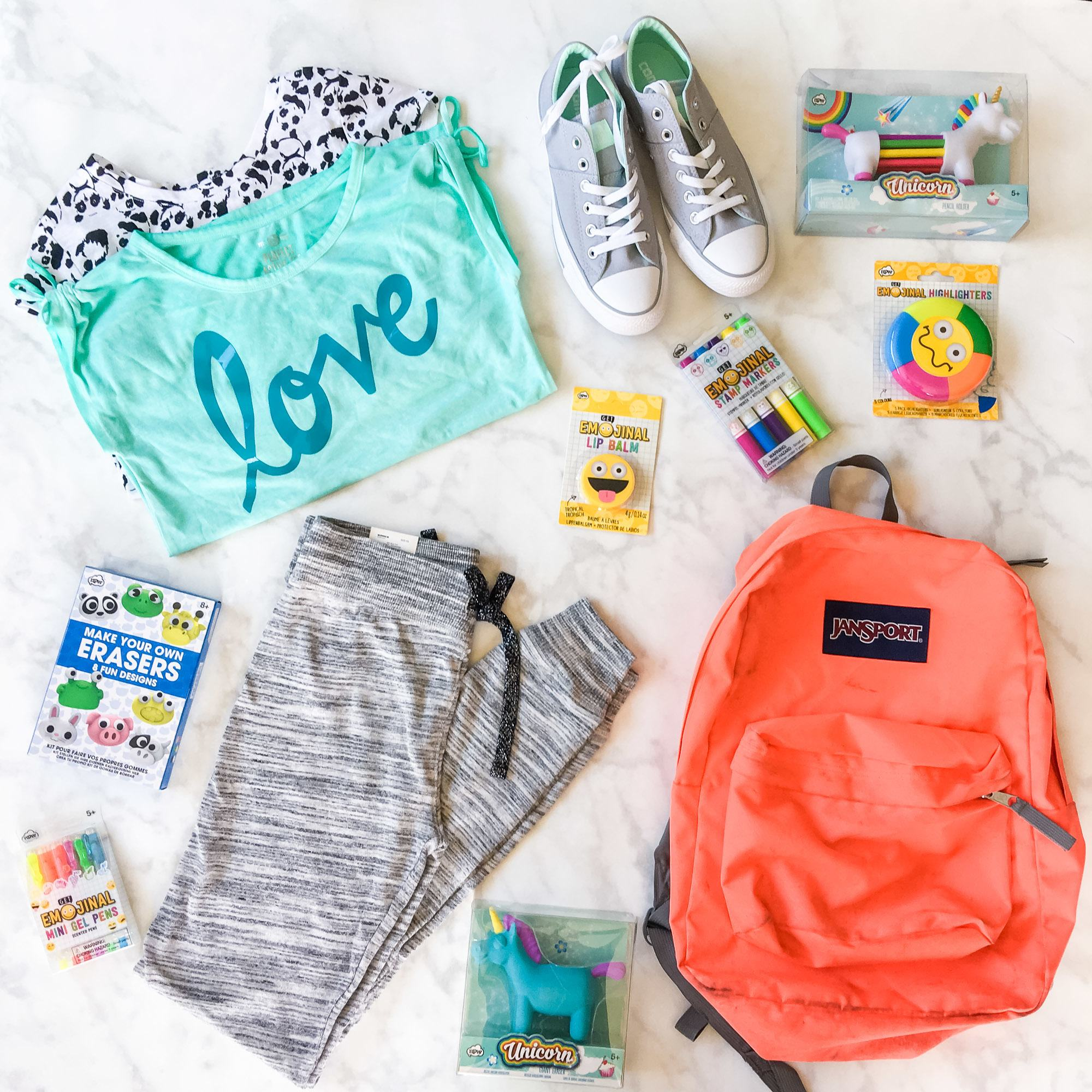 A tween's back-to-school shopping haul from Kohl's.