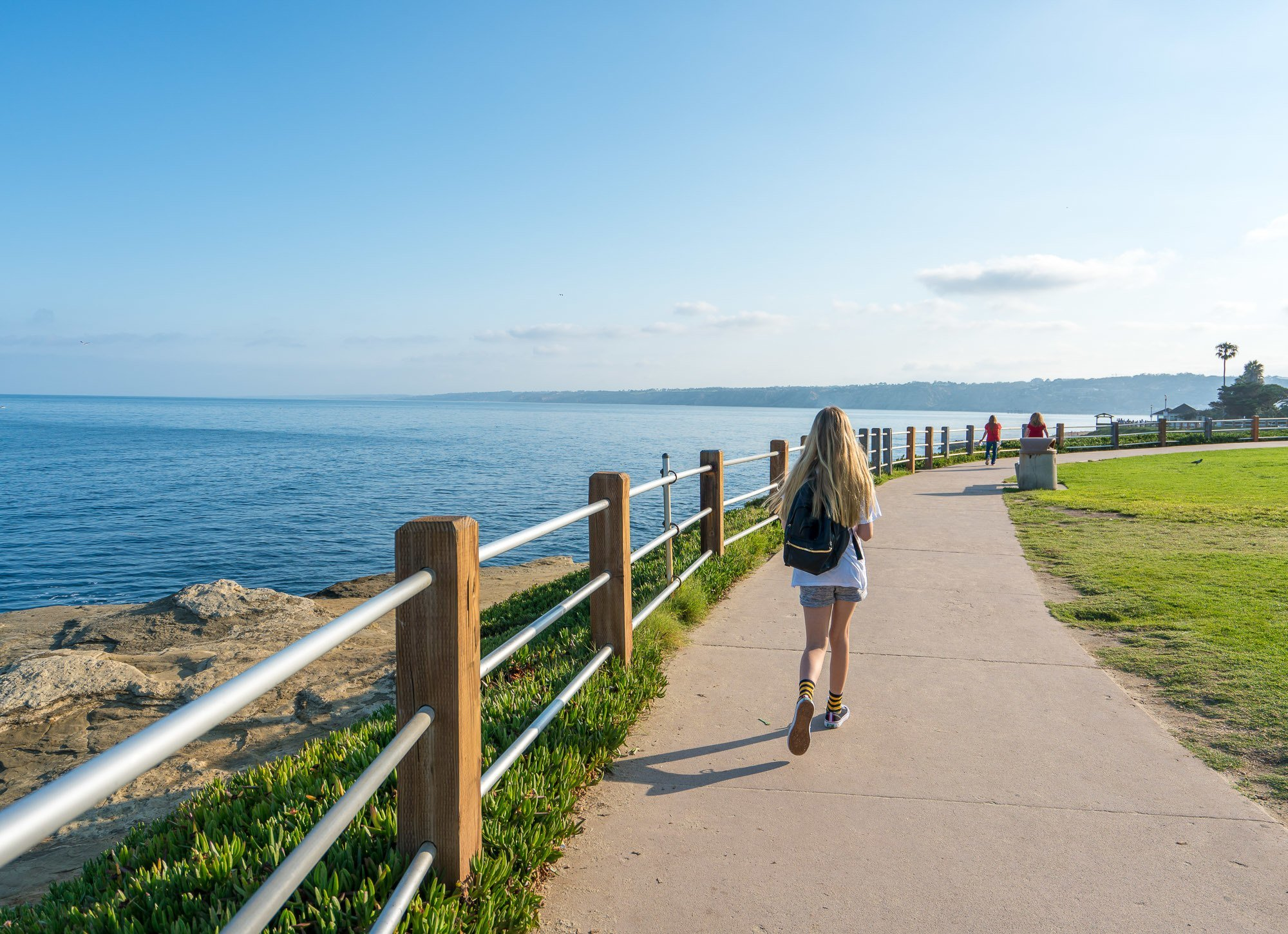 A walk around La Jolla Cove.