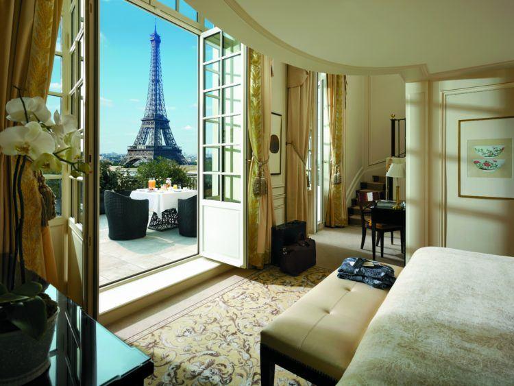Shangri-la Paris is one of the city's best luxury hotels.