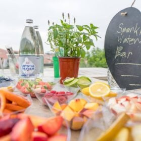 Party Idea: Make a Sparkling Water Bar