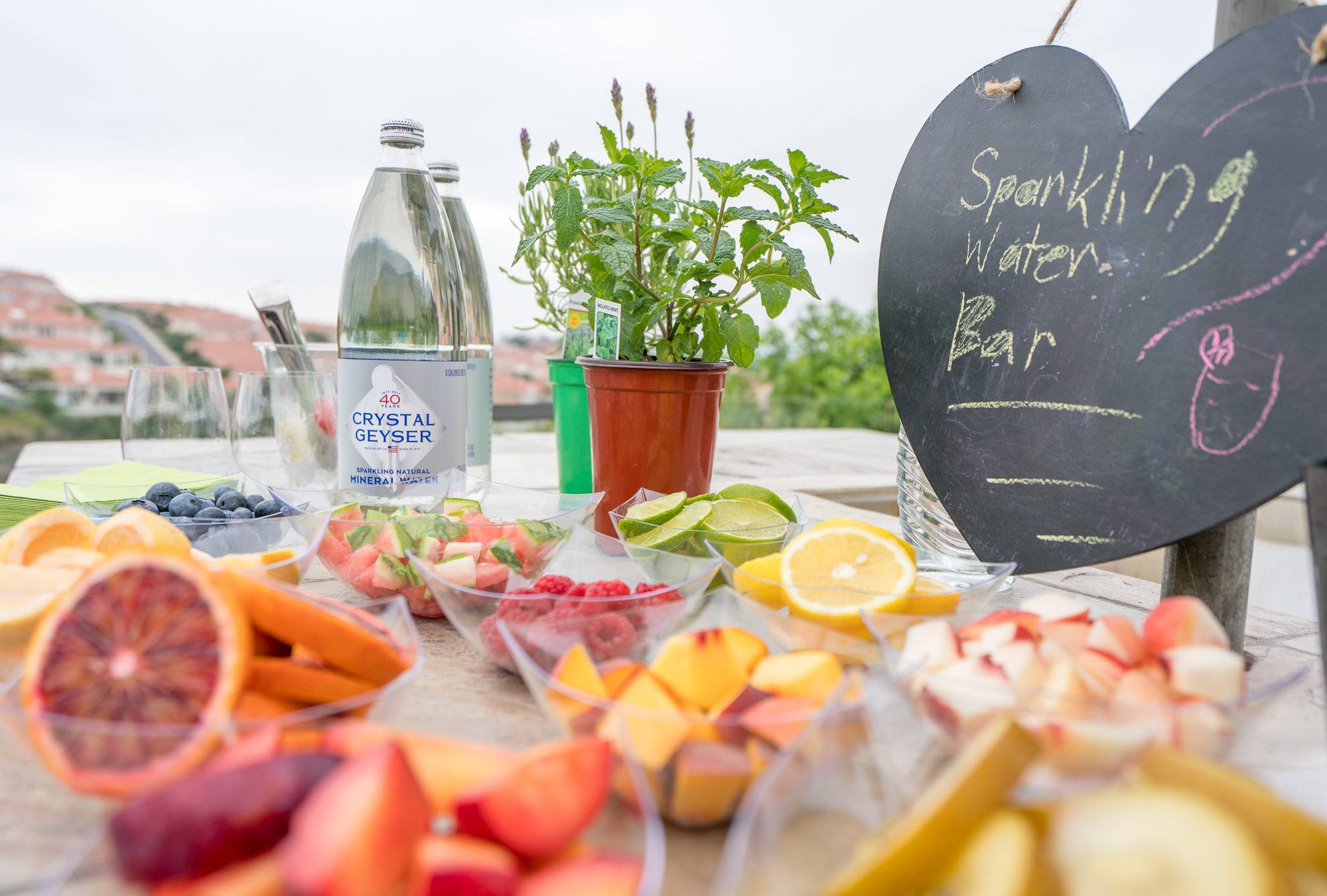 Party Idea How To Make A Sparkling Water Bar La Jolla Mom
