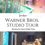 What it's like to visit Warner Bros. Studio Tour London with a Harry Potter fan. Photos of props, costumes, sets on display - start to finish.