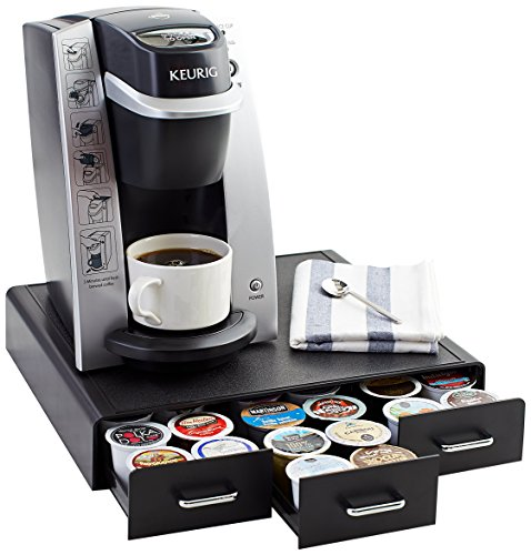 this is one of best sellers probably due to price and convenience of having separate drawers right below the keurig - Cheap Keurig
