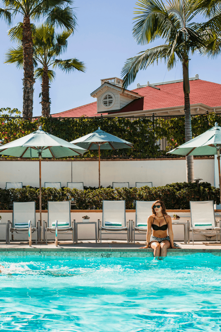 Beach Village at The Del in San Diego offers guests highly personalized service and quieter swimming pools.